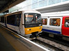 Pic by Liz <br /> <br /> Side on of the <br /> <br /> Chiltern Turbo as it eases into the platform