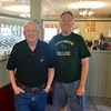 Nice to have breakfast with P&G buddy Greg Robbins this morning.