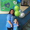 Lucas and his dedicated and determined mom, Heather St. Onge of Lowell, who is a paraprofessional at HAA