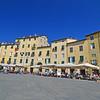 Piazza Amfiteatro, Lucca, Italy