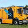 Commando Luchtstrijdkrachten (CLSK)<br /> Roepnummer: 28-4133<br /> Kenteken: LM-14-93<br /> Merk: Mercedes-Benz Atego 1529 F <br /> Opbouw: Rosenbauer / Kenbri<br /> Bouwjaar: 2014<br /> Pomp: Rosenbauer NH35 gecombineerde LD / HD pomp<br /> Schuimbijmengsysteem: Rosenbauer Digimatic<br /> Schuim systeem: Rosenbauer Flash CAFS 15<br /> Tank: 2000 liter water / 200 liter s.v.m.<br /> HD haspel: 1 x Rosenbauer 80 mtr. hogedruk<br /> LD-CAFS haspel: 1 x Rosenbauer 60 mtr. Formitex LD-CAFS haspelslang<br /> Lichtmast: Rosenbauer Flexilight met 8 LED lampen.<br /> Standplaats: reserve / BOTC