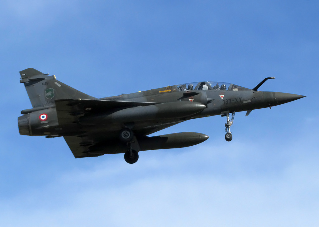 French Air Force Dassault Mirage 2000D 649 133-XY
