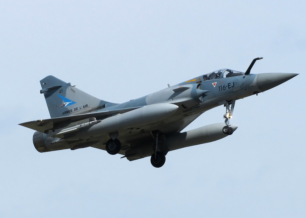 French Air Force Dassault Mirage 2000-5F 43 116-EJ