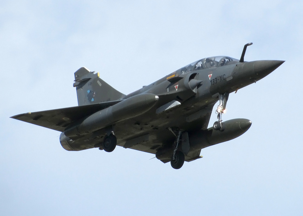 French Air Force Dassault Mirage 2000D 618 133-XC