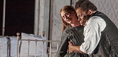 ENO Lucia di Lammermoor Sarah Tynan Lester Lynch (c) John Snelling
