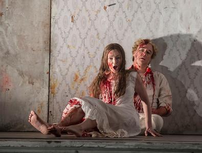 ENO Lucia di Lammermoor Sarah Tynan Michael Colvin (c) John Snelling