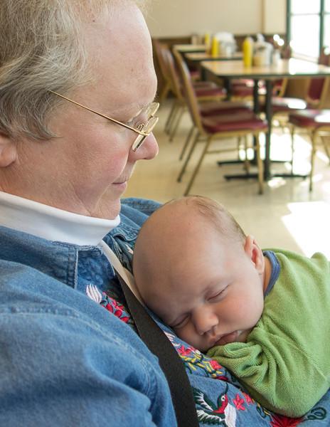Grandma Sheila and Lucian
