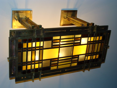 Ceiling Fixture- design: LC Kapp, fabrication: Tibor Baron