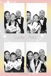 Lucky + Asia (Luxe Photo Booth)
