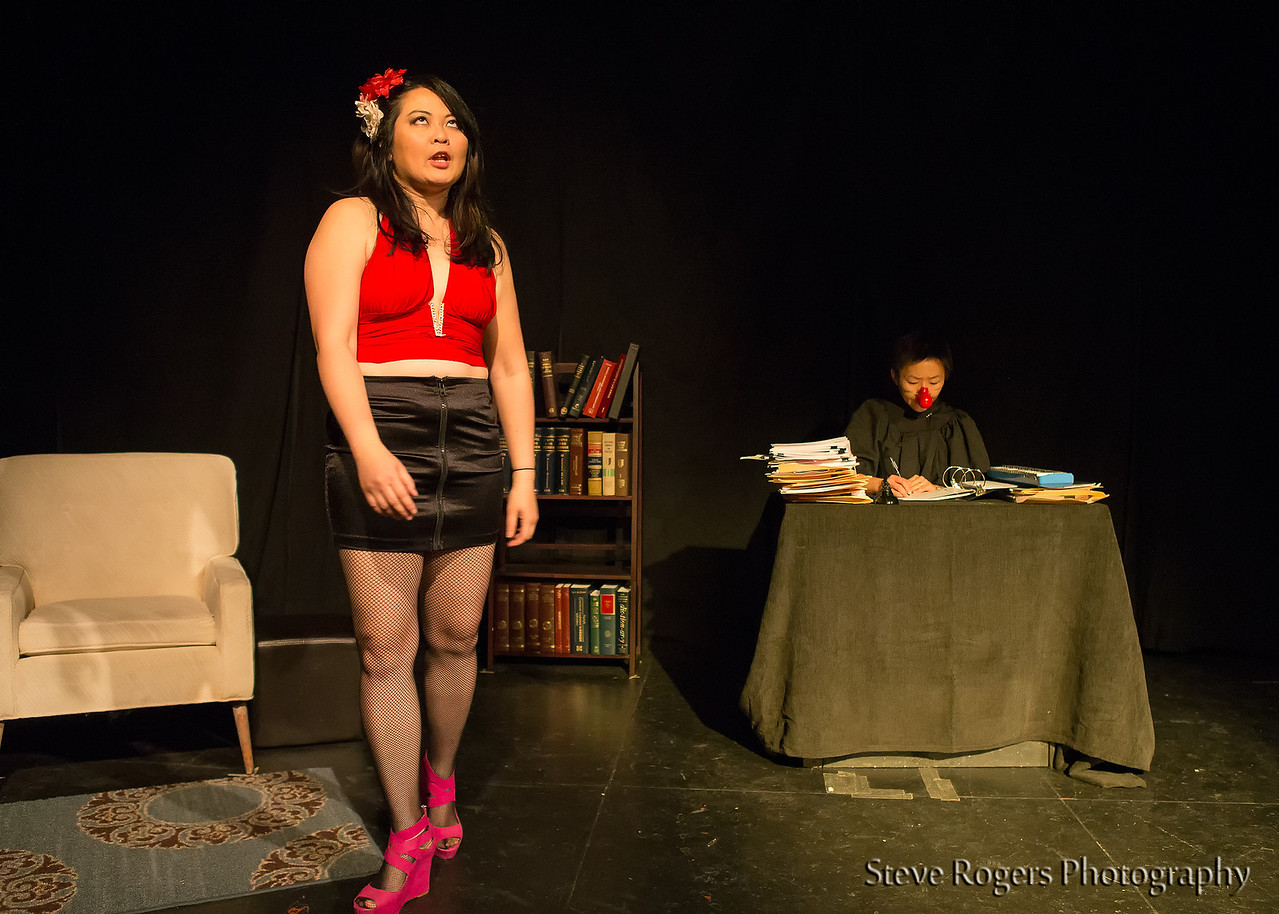 Lewd Asian Women 2/28/2014 by Lucky Chaos Theater Projects