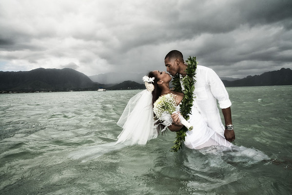 Kaneohe Sandbar Wedding