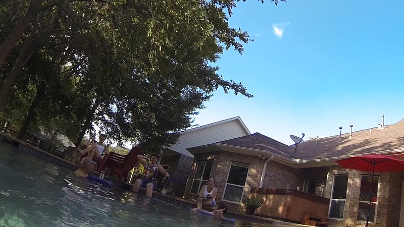 Underwater GoPro clip