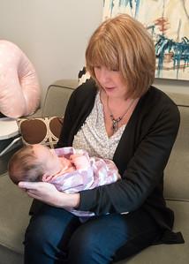 Week 2 (01/29/16) - Grandma and Lucy meet :)