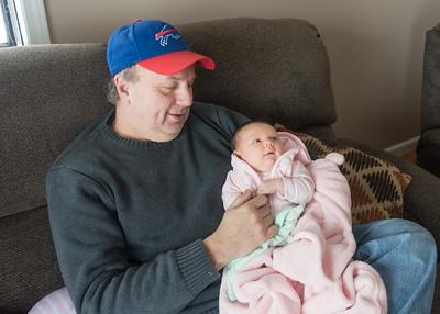 Week 4 02/13/16 - We visit Grandpa Mike's home on Lake Ontario.