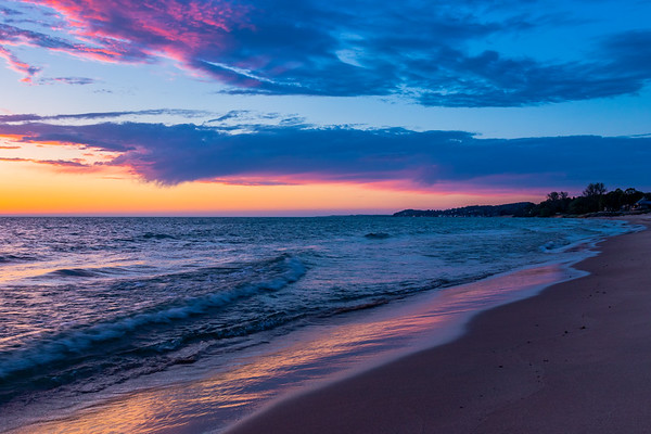 Spring Afterglow in Ludington