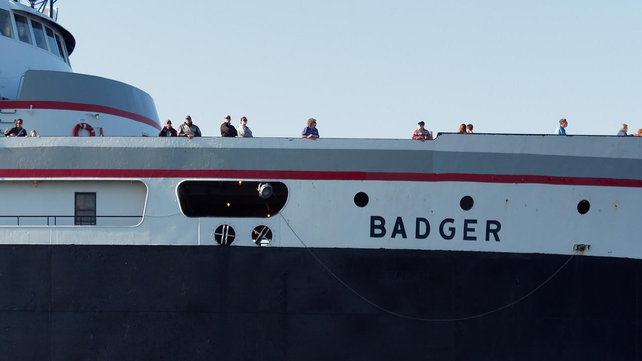 People Aboard Badger