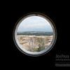 Big Sable Point Light - view from one of the windows as you climb the tower