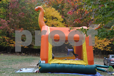 sb umc fall fest bounce house