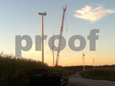 PK wind tower with crane