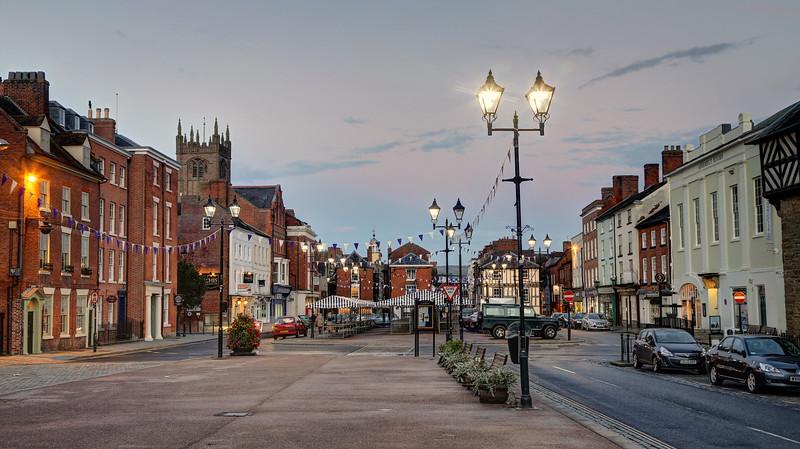 The Market Square, Ludlow,