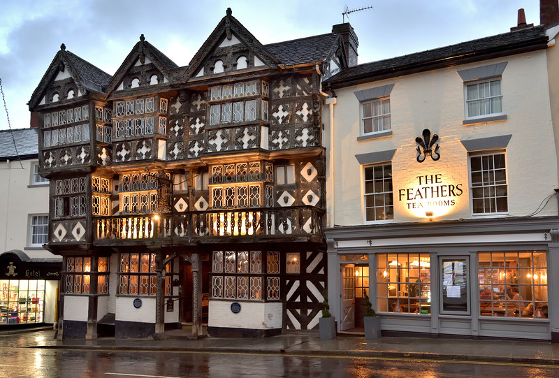 The Feathers, Ludlow.