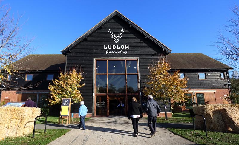 Ludlow Food Centre re-branding.