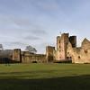 Ludlow Castle renovations.