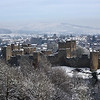 Ludlow castle viewed from Whitcliffe Common.