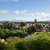 Ludlow town centre from Whitcliffe Common
