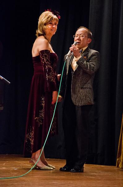 Ludmila Kisseleva-Eggleton birthday party at Hillside Club, Berkeley, CA