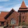 First Presbyterian Church in Dayton, OH Conosera tile in Clay Red  Installed 1901
