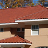 "18-3/8"" Spanish ""S"" Tile - Clay Red Color - 102 / 206 Ridge System with High Bump Terminals.  #206 Ridge Tiles are slot vented style."