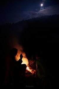 W płomieniach