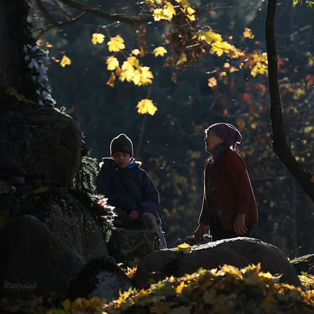 Przy jesiennym ołtarzu