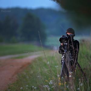 Mały fotograf przyrody