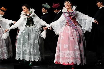 """Tańce żywieckie Zespół """"Mazowsze"""" ©Agata Katafiasz-Matysiak"""