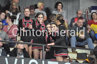 Lueders Invitational (1-20-18) cheerleaders and more