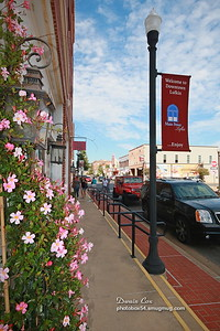 Lufkin, Downtown, Sidewalk