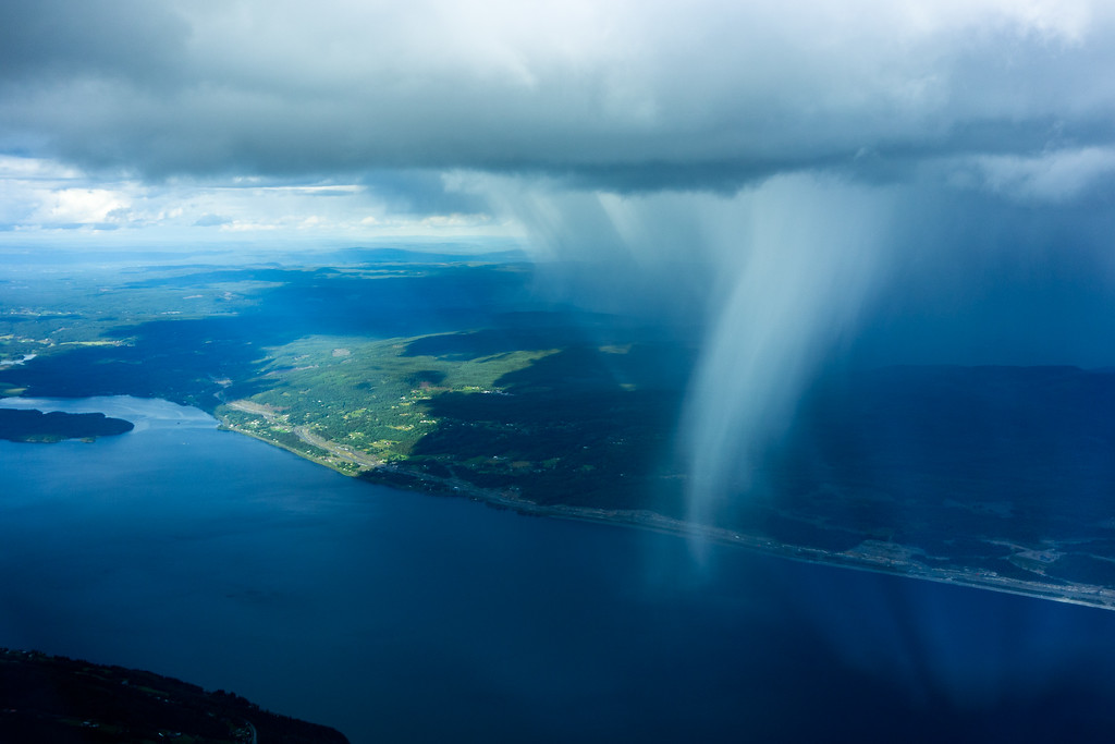 Shower over Mjøsa