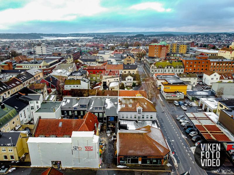 "Sarpsborg sentrum 13. november 2019. Foto: Thomas Andersen -  <a href=""http://www.vikenfotovideo.no"">http://www.vikenfotovideo.no</a>"