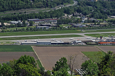 Lugano Airport Overview - 05.05.2016