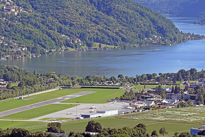 Lugano Airport Overview - 07.06.2017