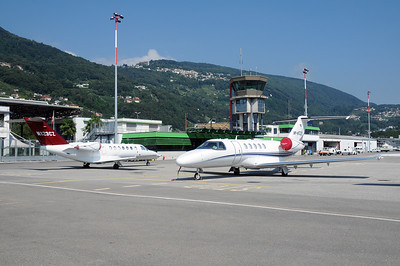 Lugano Airport Overview - 28.08.2016