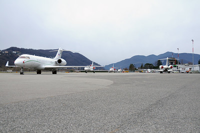 Lugano Airport Overviews