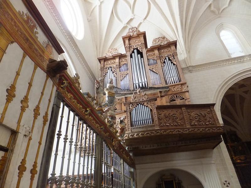 Órgano de la Colegiata de Alquézar