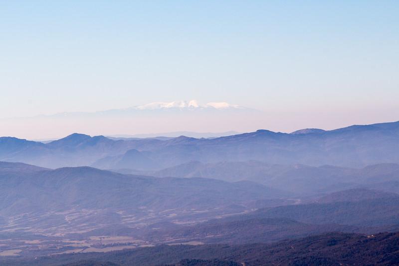 Vistas desde la Peña Oroel
