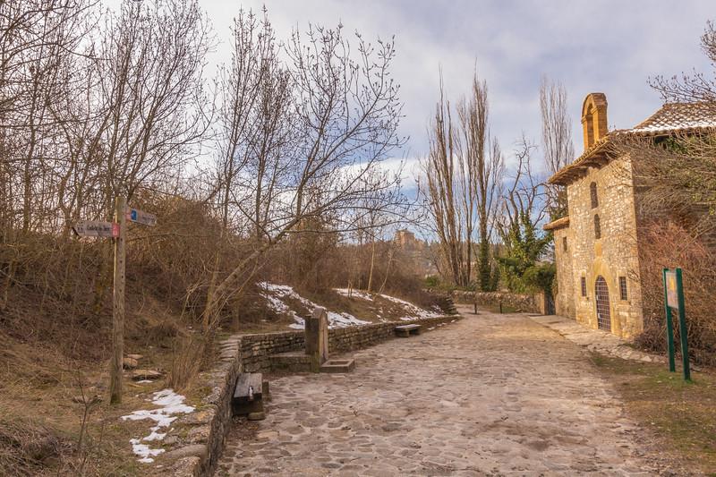 Ermita de San Cristobal, Central de Jaca, Paseo de la cantera