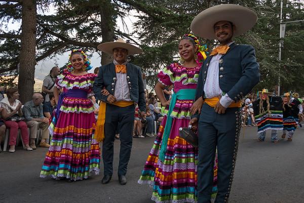 Festival folklórico de los pirineos, Jaca