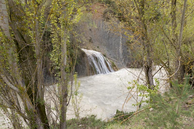 Cascada en el Río Gas.