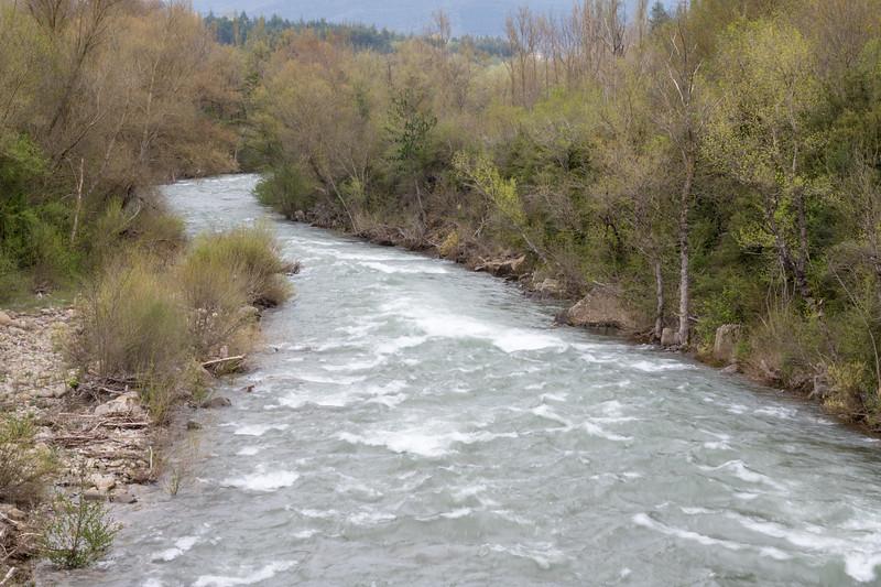 Río Aragón, desde el puente de las grajas